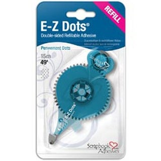 Permanent; 49'; Use In 12026 - Scrapbook Adhesives E-Z Dots Refillable Dispenser