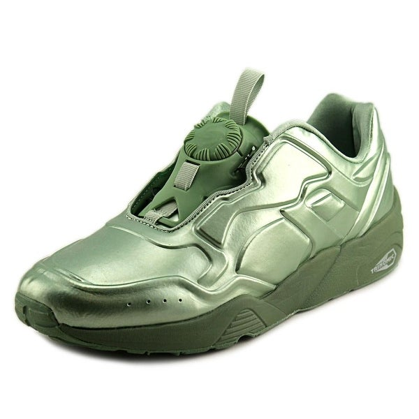 Puma DISC 89 Metal Men Round Toe Synthetic Green Sneakers