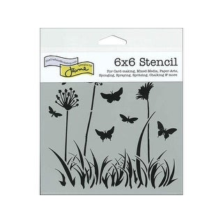 The Crafters Workshop Stencil 6x6 Butterfly Mdw
