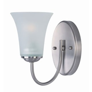 "Delacora DL-44671 Single Light 8.5"" Tall Bathroom Sconce From the Logan Collection"