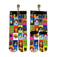 Odd Sox Famous Faces Socks, Fits Sizes 6-13