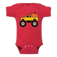 Pumpkin Truck - Infant One Piece