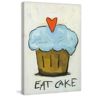Marmont Hill Eat Cake - on Canvas Fine art print on canvas from the Tori Campisi Collection