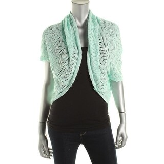 Luxe Womens Cardigan Sweater Pointelle Cocoon|https://ak1.ostkcdn.com/images/products/is/images/direct/3be780f7b4abf8856cbcd756e2f9a1b3e6d5ae29/Luxe-Womens-Pointelle-Cocoon-Cardigan-Sweater.jpg?_ostk_perf_=percv&impolicy=medium