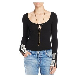 Free People Womens Pullover Top Knit Textured (3 options available)