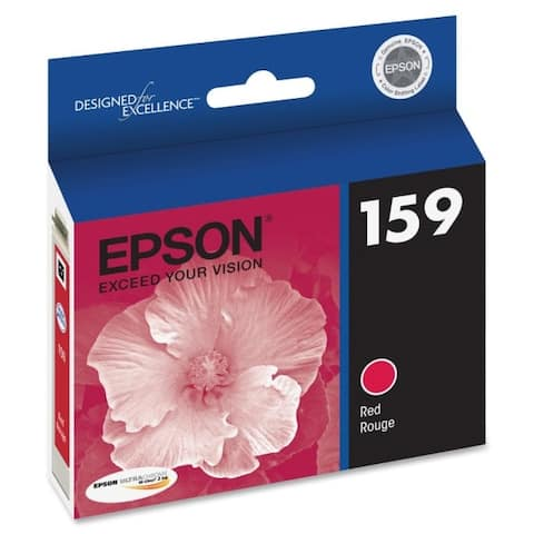 Epson america t159720 ultrachrome hi gloss 2 ink red