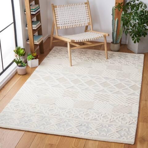 SAFAVIEH Handmade Artistry Godelieve Modern Wool Rug