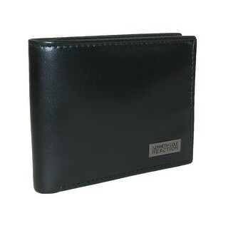 Kenneth Cole Reaction Men's Leather Montrose Traveler Passcase Bifold Wallet - One size