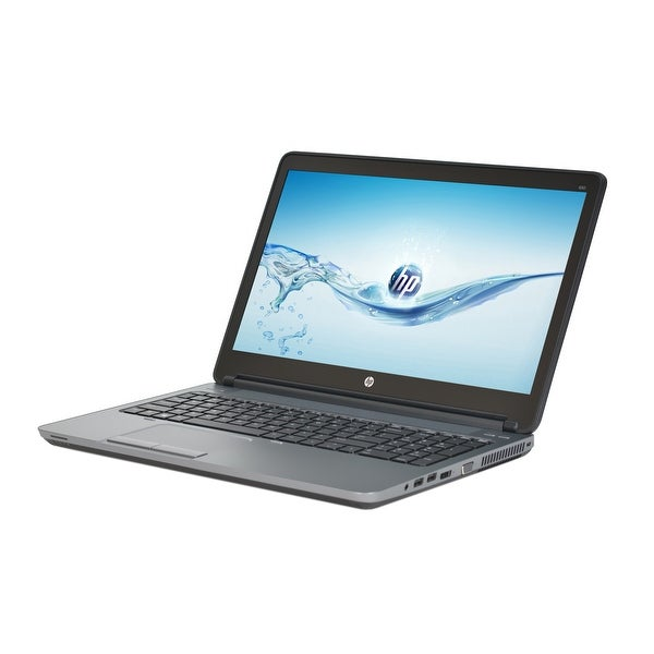 HP ProBook 650 G1 Intel Core i5-4200M 2.5GHz CPU 8GB RAM 500GB HDD Windows 10 Pro 15.6-inch Laptop (Refurbished)