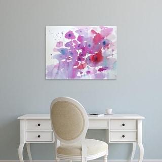 Easy Art Prints Karen Margulis's 'Roadside Meadow' Premium Canvas Art
