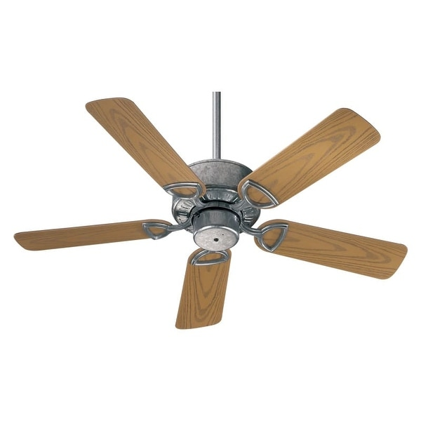 Quorum International Q143425 Indoor / Outdoor Ceiling Fan from the Estate Patio 42 Collection