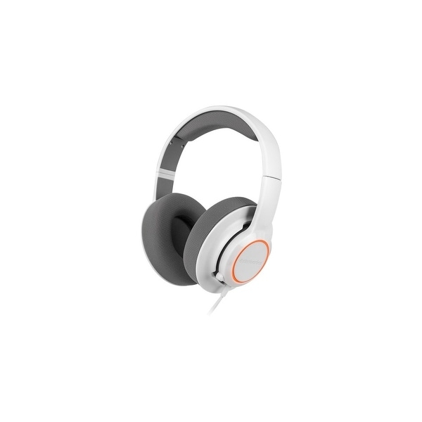 SteelSeries 61410 SteelSeries Siberia Raw Prism Gaming Headset - Stereo - White - USB - Wired - 32 Ohm - 20 Hz - 20 kHz -