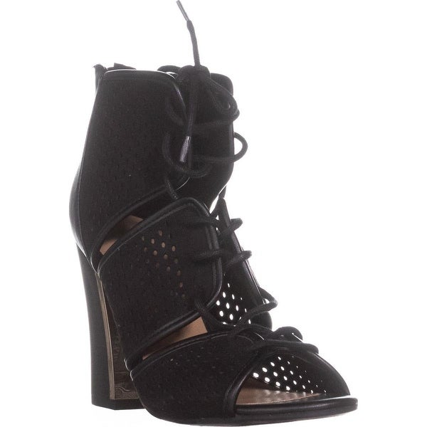 Call It Spring Ciracia Lace-Up Dress Sandals, Black - 8 us / 38.5 eu