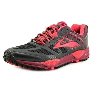 Brooks Cascadia 11 GTX Women  Round Toe Synthetic Black Running Shoe