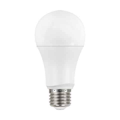 15.5 Watt A19 LED 2700K Dimmable Medium Base 230 degree Beam Angle 4-pack - Frosted