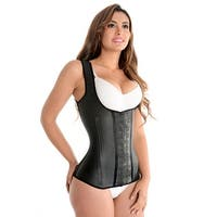 Fiorella Shapewear Full Vest Latex Waist Trainer Cincher Corset Girdle Chaleco Fajas Colombianas Reductoras