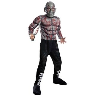 Guardians Of The Galaxy Vol 2 Drax Deluxe Child Costume