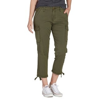 Jag Jeans NEW Green Womens Size 4 Utility Relaxed Boyfriend Cargo Pants