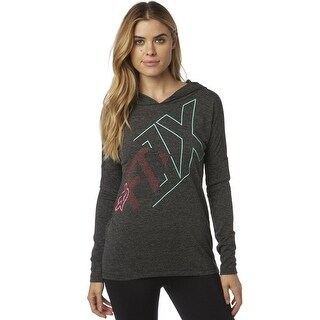 Fox Racing Women's Arterial Road Pullover Hoodie - 20262 - Heather Black