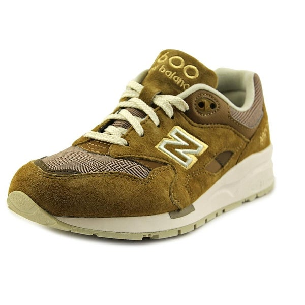New Balance CW1600 Women Round Toe Synthetic Tan Sneakers