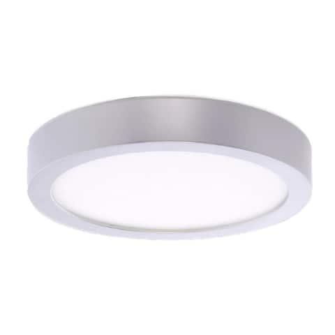 "Bulbrite Single LED 5.5"" Round Flush Mount Fixture, 40W Equivalent"
