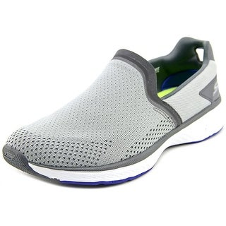 Skechers Go Walk Sport Energy Men  Round Toe Canvas Gray Sneakers
