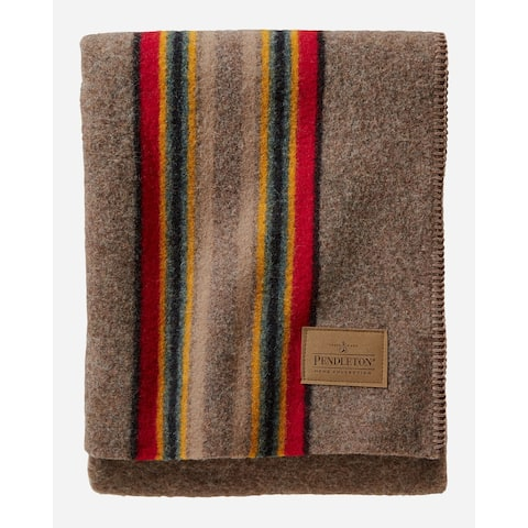 Pendleton Yakima Camp Mineral Umber Throw