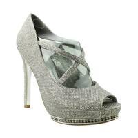 Adrianna Papell Womens Golda Steel Peep Toe Heels Size 7