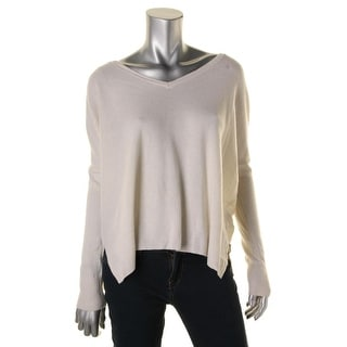 Minnie Rose Womens Cashmere KNit Pullover Sweater - XS