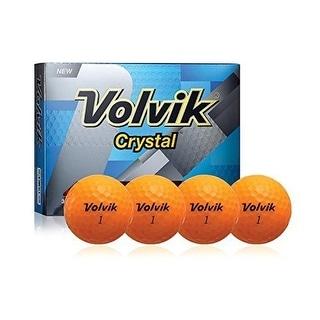 Volvik 2016 Crystal Orange Dozen Golf Balls - 9113