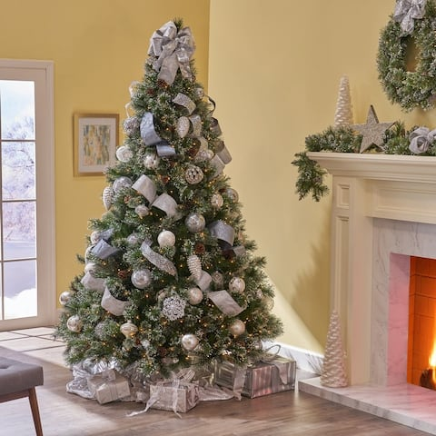 7-ft Cashmere Pre-Lit or Unlit Artificial Christmas Tree by Christopher Knight Home