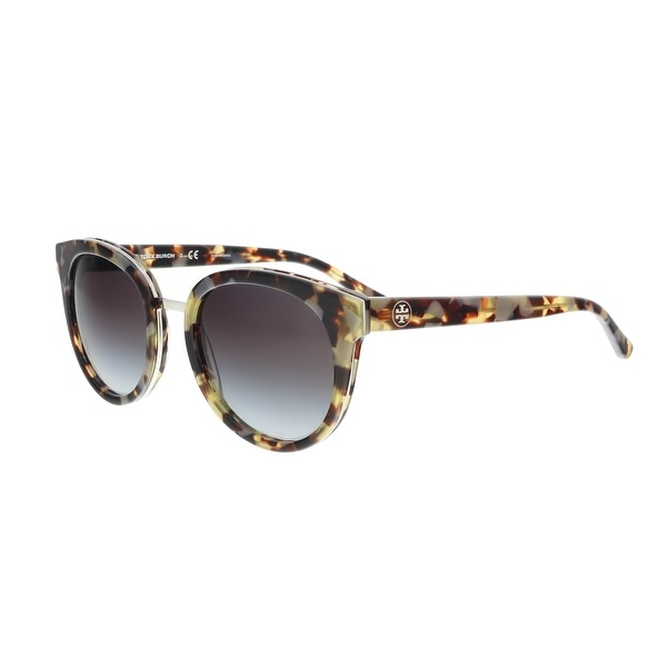 9fca1f63f38b Shop Tory Burch TY7062 16238G Tortoise Cat eye Sunglasses - 53-18 ...