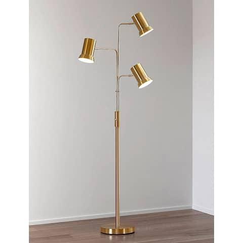 HOMEGLAM Studio 3-light Metal Floor Lamp