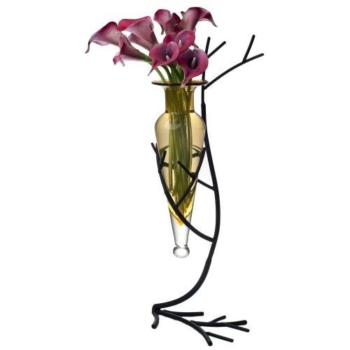 Shop Danya B Mc758 195 Tall Decorative Vase With Branch Style Iron