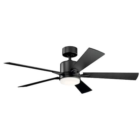 Kichler Lighting Lucian 52-inch LED Ceiling Fan Satin Black