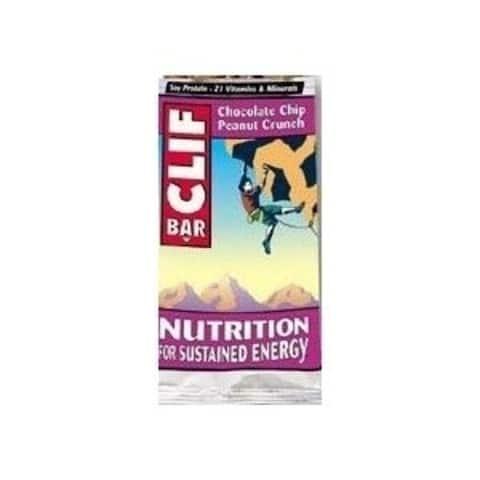 Clif 30489 Organic Choc Chip Peanut Crunch Clif Bar