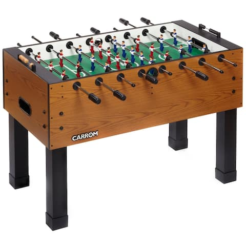 Carrom Burr Oak PREASSEMBLED Foosball Table Soccer Model 750.37