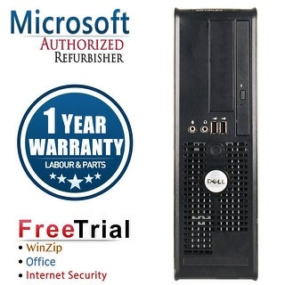 Refurbished Dell OptiPlex 380 SFF Intel Core 2 Duo E7500 2.93G 8G DDR3 1TB DVD Win 7 Pro 64 Bits 1 Year Warranty - Silver