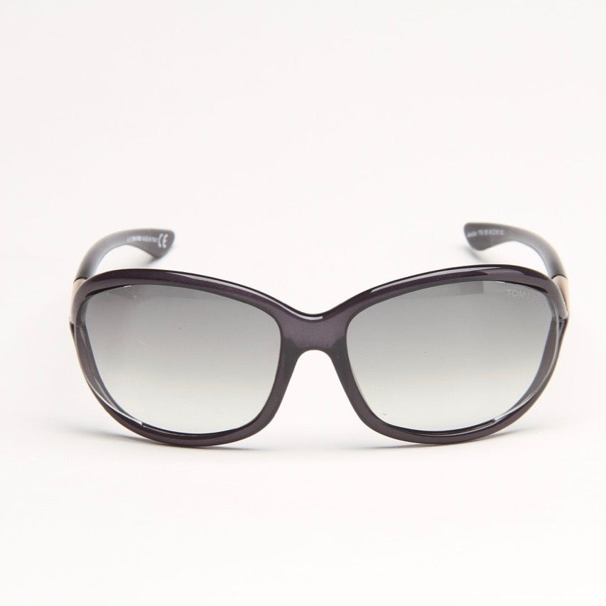 Jennifer Grey Sunglasses With Grey Gradient Lens - Thumbnail 0