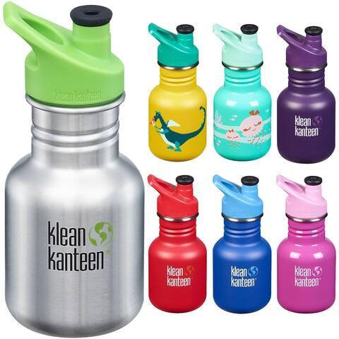 Klean Kanteen Kid Classic 12 oz. Single Wall Bottle with 3.0 Sport Cap - 12 oz.