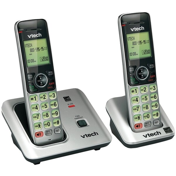 Vtech Cs6619-2 Cordless Phone With 2 Handsets, 50 Name/Number