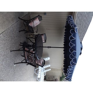 Hallandale Sarasota Cast Aluminum Bronze 5-piece Outdoor Dining Set by Christopher Knight Home