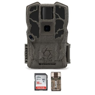 Stealth Cam G34 Max Pro 26MP Trail Camera W SD Card USB Card Reader