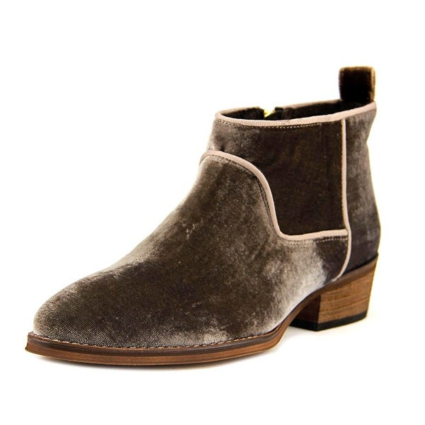 Sixtyseven 78824 Women Round Toe Canvas Brown Bootie