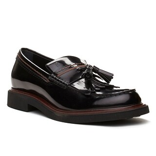 Tod's Men's Leather Tassle Loafer Shoes Black Brown (3 options available)