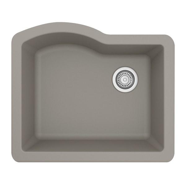 Karran Undermount Quartz Single Bowl Kitchen Sink. Opens flyout.