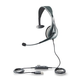 Jabra UC Voice 150 Mono Corded Headset w/ USB Connection & Noise-Canceling Microphone