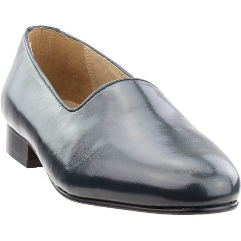 Giorgio Brutini Crawley Plain Toe Slip-On Mens Dress Shoes - Blue