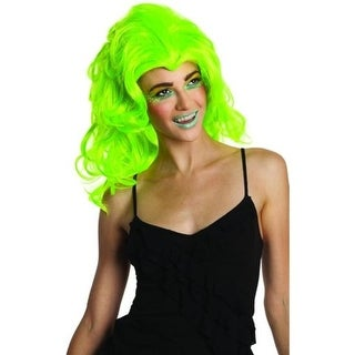 Rubie's Womens New Wave Costume Wig Halloween Party - o/s