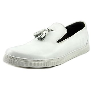 Hardy Cara Women  Round Toe Leather White Loafer